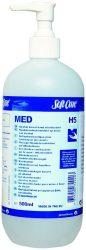 SOFT CARE Med alkoholtartalmú kézfertőtlenítő gél (500 ml)