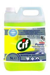 CIF Prof. Power Cleaner Degreaser erőteljes tisztító-, zsíroldószer (5 liter)