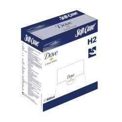 SOFT CARE  Dove népszerű kézmosókrém, amely alaposan tisztítja a bőrt és egyben védi a kiszáradástól (800 ml)