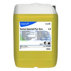 SUMA Special Pur-Eco L4 folyékony gépi mosogatószer közepesen kemény vízhez (20 liter)