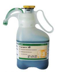 TASKI Degragerm SD magas koncentrátumú napi tisztító- és fertőtlenítőszer minden típusú vízálló kemény felületre és padlóra (1,4 liter)