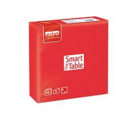 Szalvéta piros 33x33 cm, 2 rétegű (50 lap/csomag) FATO