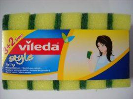 Mosogatószivacs, Vileda dörzsi felületű, 5 db/csomag
