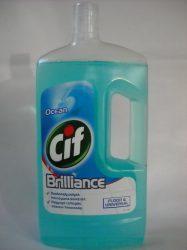 CIF Prof. Brilliance Ocean, általános folyékony tisztítószer (1 liter)