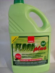 Sano Floor plus padlótisztító rovarriasztó (csótány) hatással (2 l)