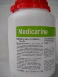 Medicarine klórtartalmú ferőtlenítő tabletta (300db)