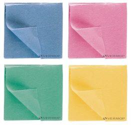Vermop viszkóz törlőkendő (kék, piros, zöld, sárga) Vlies